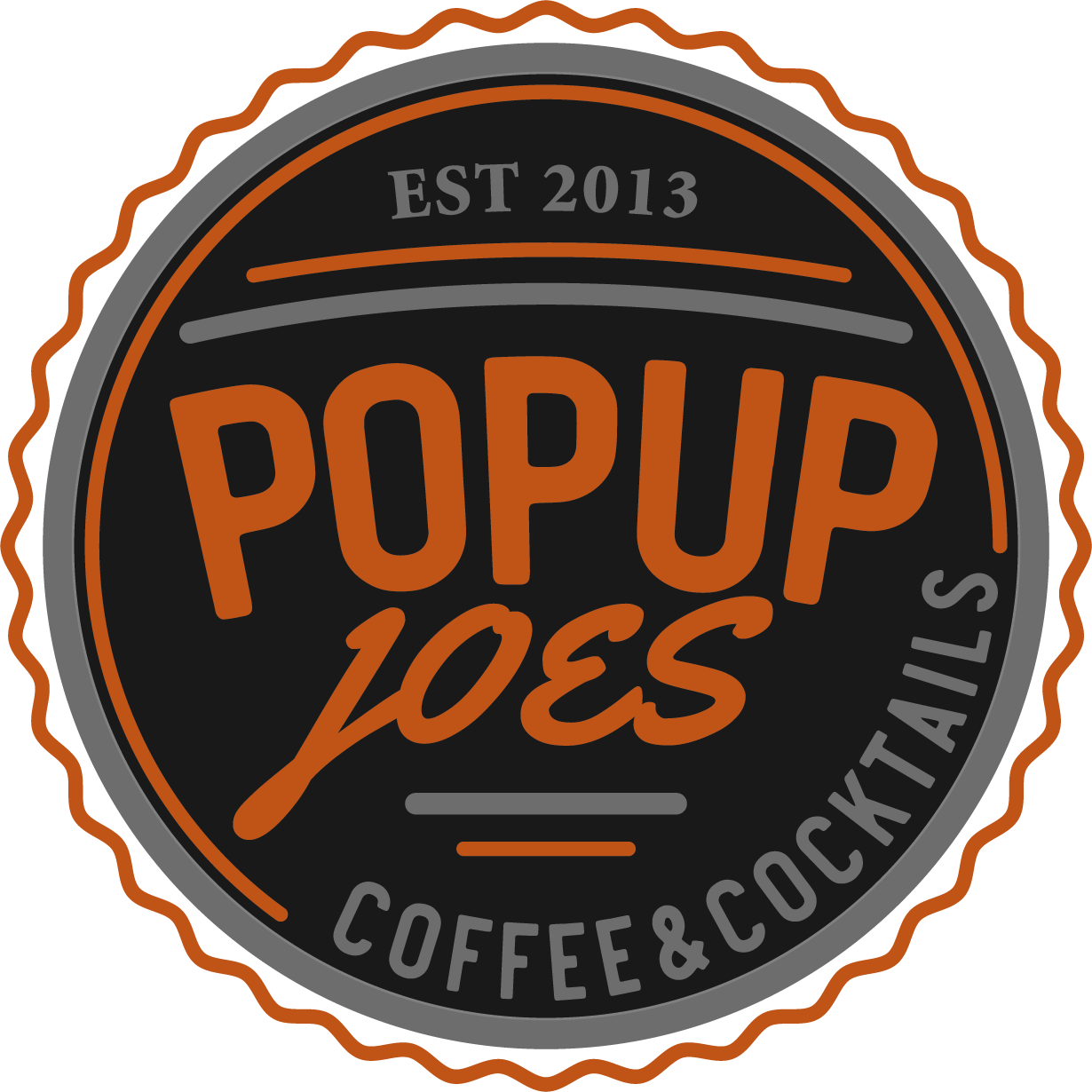 Popup Joe's Coffee and Cocktails