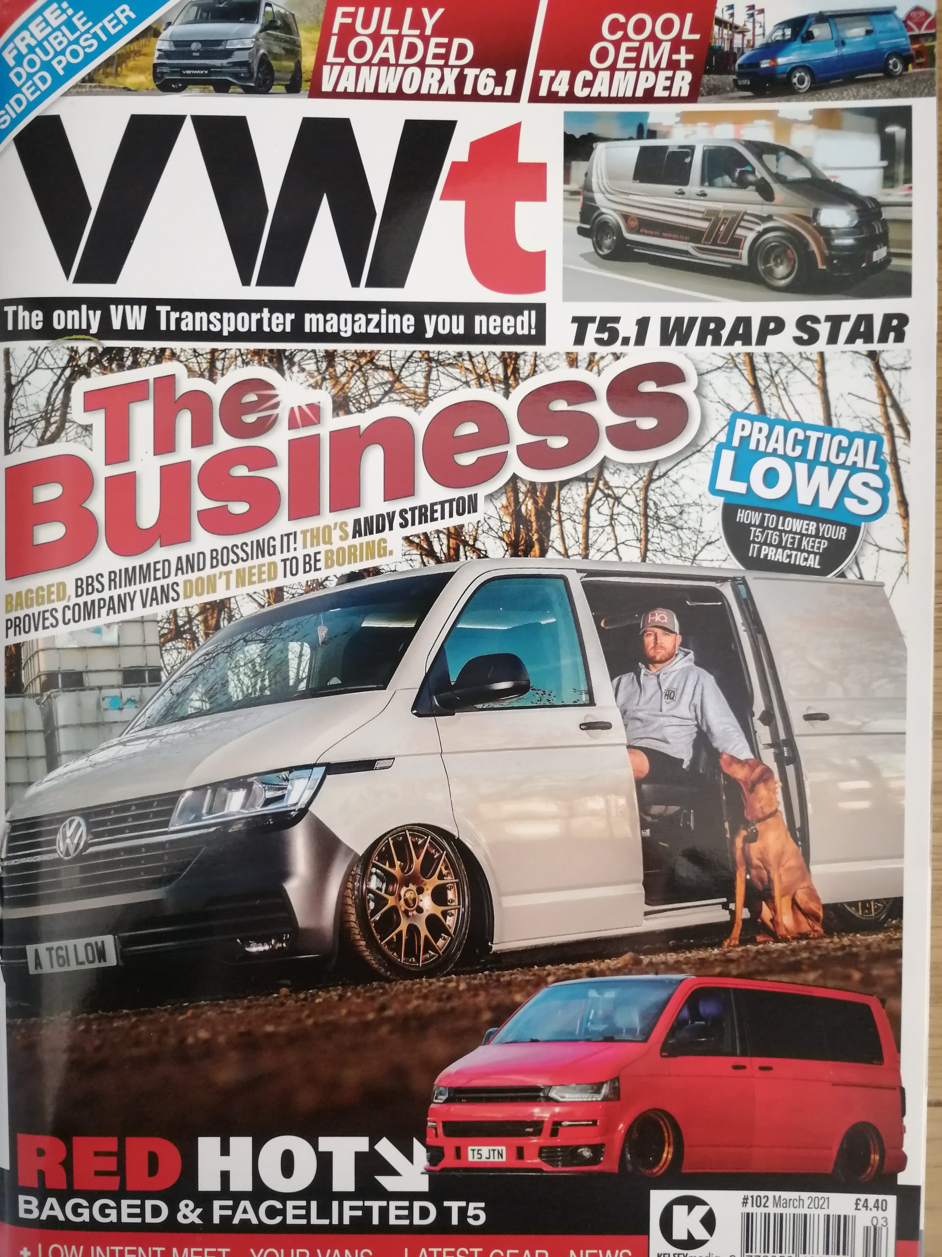 Daily Grind: Popup Joes Feature in VWT Magazine